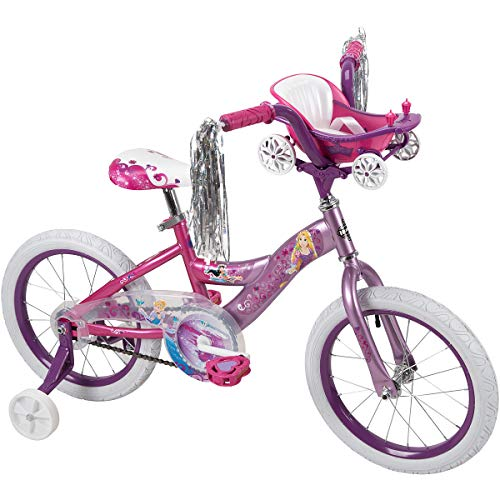 "Huffy Disney Princess 16"" Bike w/Handlebar Magic Mirror"
