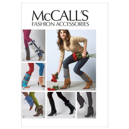 McCall Patterns M6615OSZ Footwear Toppers