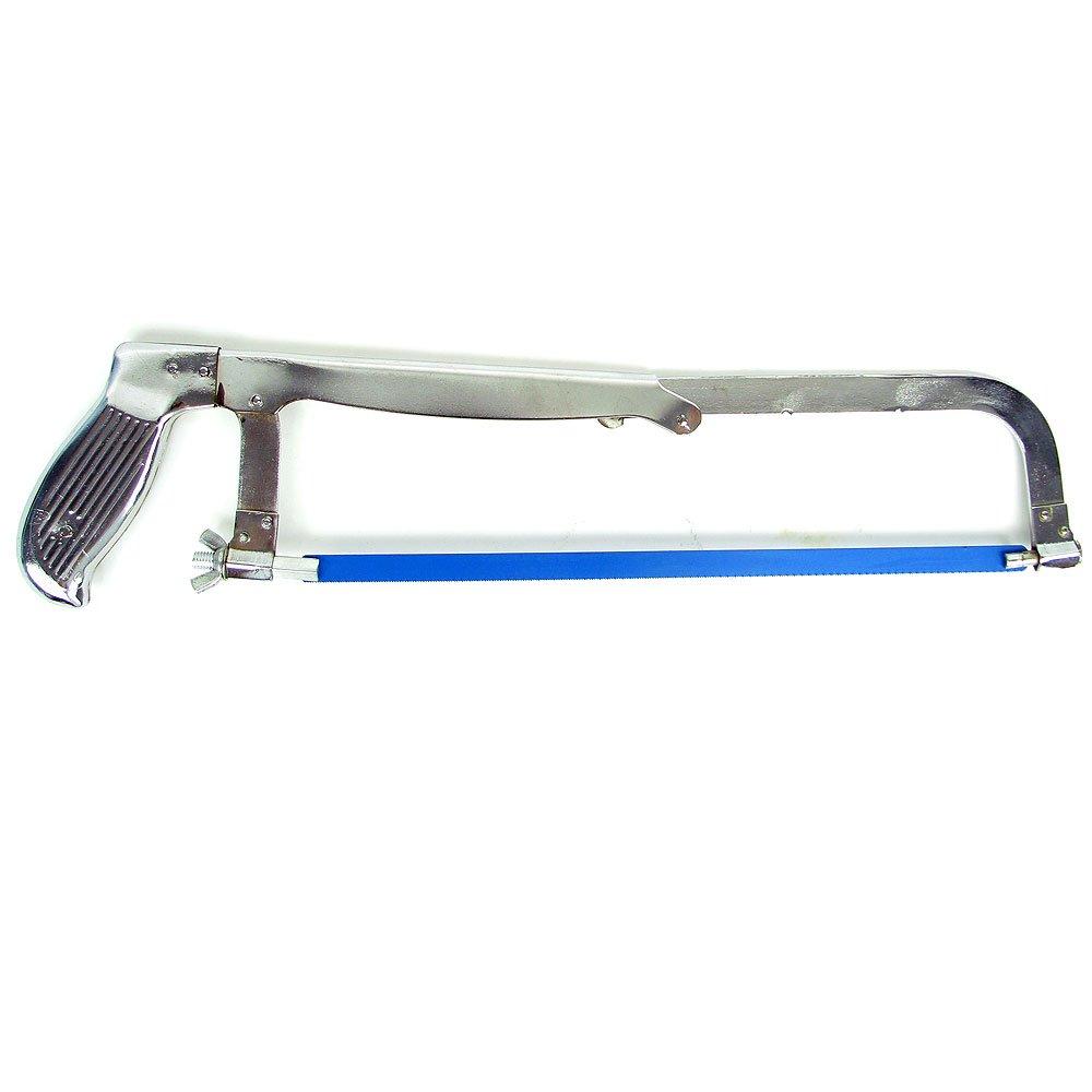 Stalwart 75-4610 Hawk 3 Size Adjustable Chrome Hacksaw
