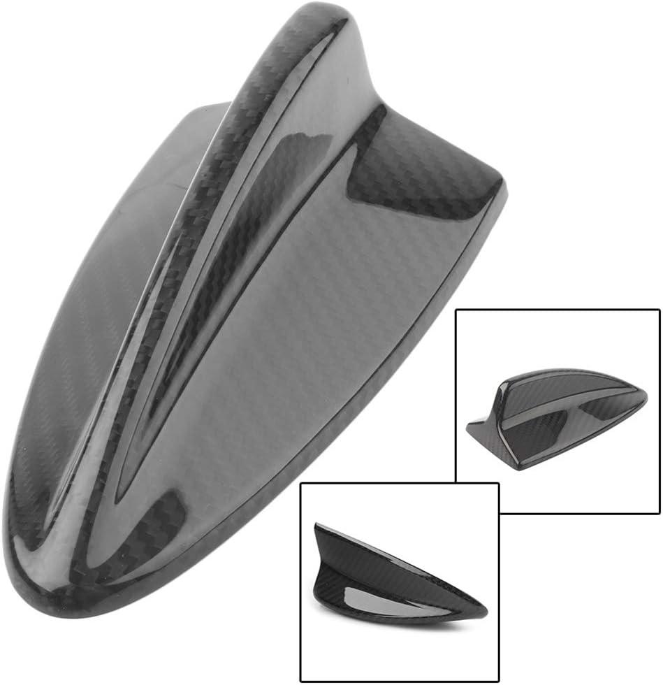 MINMIN Car Carbon Fiber Antenna Shark Fin Cover Trim Auto Roof Decorative Antenna for B-MW E46 E60 E61 E90 E92 M3 Car Accessories
