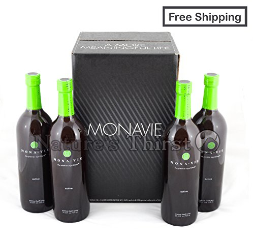 Monavie Active - 1 Case (4 Bottles) by Monavie - Pulse, Active, (M)mūn, Essential, MX