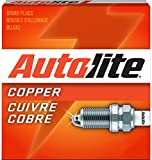 Autolite 3923 Copper Resistor Spark Plug, Pack of 1