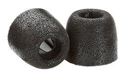 Comply Foam Premium Earphone Tips - Isolation T-400 (Black, 3 Pairs, Medium)