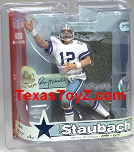 Dallas Cowboys Roger Staubach Action Figure