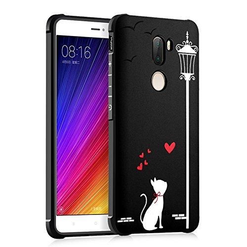 MyCase Para Xiaomi Mi5S Plus (5.7 pulgadas) Cute Cartoon Cat Skull Panda Love Design Ultra Slim Funda protectora TPU a prueba...