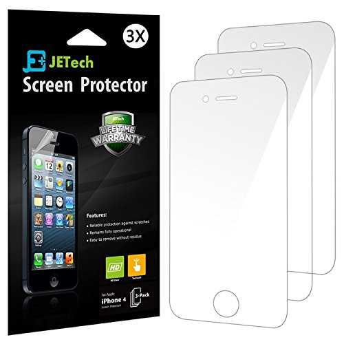 JETech 3 Pack iPhone Protector Packaging