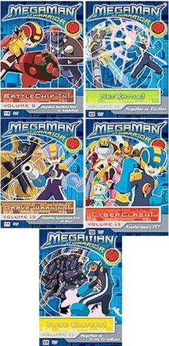 Megaman: NT Warrior Box Set Volume 9, 10, 11, 12, 13