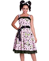 Hell Bunny 50's Dixie Vintage Retro Dress Pink