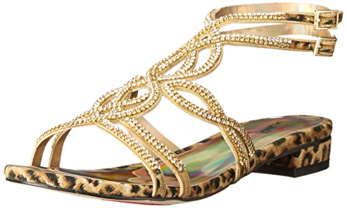 Luichiny Women's Chesley Leopard Sandal 8 M -