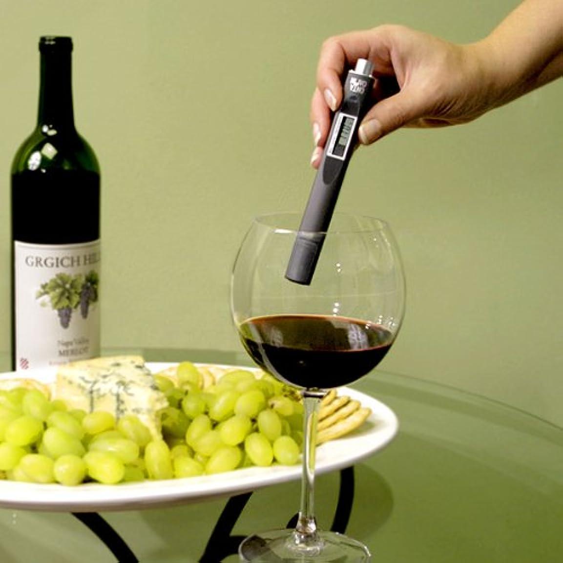 生息地お金害ワイン 温度計 / ボトル サーモ ベルト / ワインの飲み頃温度をかんたん計測
