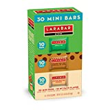 #5: Larabar Minis Gluten Free Bar Variety Pack, Apple Pie, Peanut Butter & Peanut Butter Chocolate Chip Cookie, 0.78 oz Bars (30 Count)
