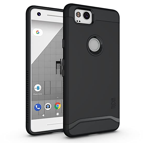 detailed look bffd7 6fb18 Google Pixel 2 Case, TUDIA [Merge Series] Heavy Duty Extreme  Protection/Rugged with Dual Layer Slim Precise Cutouts Phone Case for  Google Pixel 2 ...