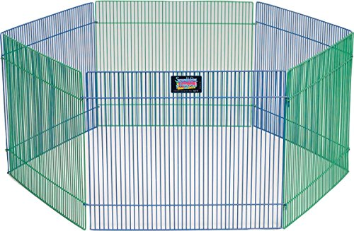 MidWest Homes for Pets Small Animal Pet Playpen/Exercise Pen - Guinea Pig Playpen