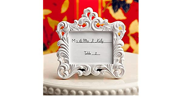 4c8dd05f7ef Victorian Baroque Style Place Card Frame (Set of 6)  Amazon.ca  Home    Kitchen