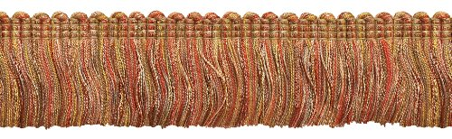 - DecoPro 5 Yard Value Pack of Rust Gold Baroque Collection Brush Fringe 1 3/4