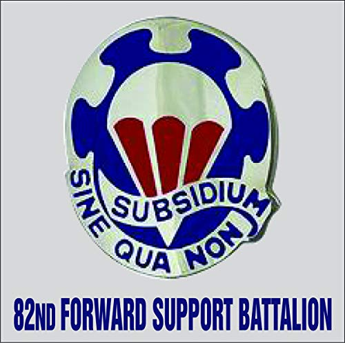 82nd Forward Support Battalion Unit Crest Decal