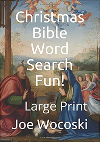 Christmas Bible Word Search Fun Large Print Bible Word Search