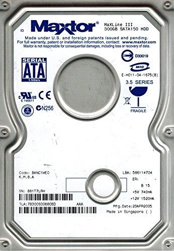 Maxtor 7B300S0 SATA 300GB CODE: BANC1WE0 K,M,B,A