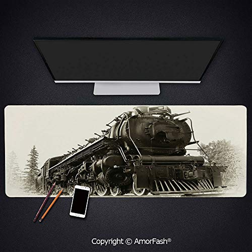 Thick Printed Art Mousepad - Rubber Mouse Pad for Laptop,Computer,PC,Keyboard,31.5
