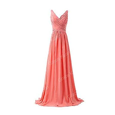 Amazon.com: FidgetFidget Plus size Prom Evening Bridesmaid Dresses ...