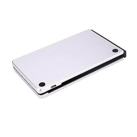 Tiptiper Hanbaili Teclado Plegable, Teclado ultradelgado inalámbrico Bluetooth para iPad, iPhone, Dispositivos Android