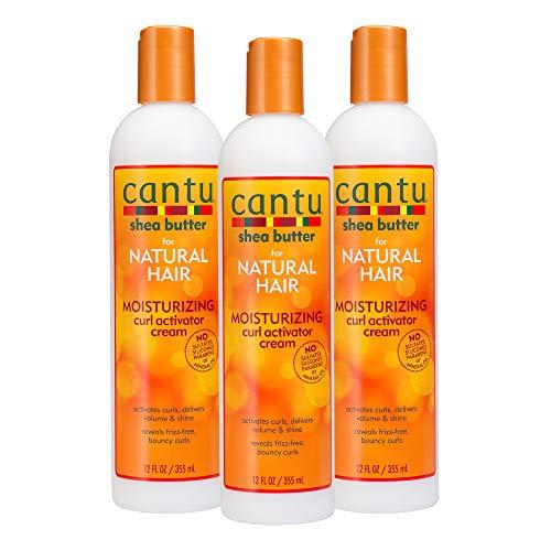 - Cantu Shea Butter for Natural Hair Moisturizing Curl Activator Cream, 36 Ounce