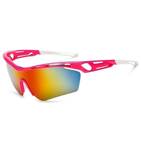 Haxibkena Gafas para Montar en Bicicleta de montaña, Gafas de Sol ...