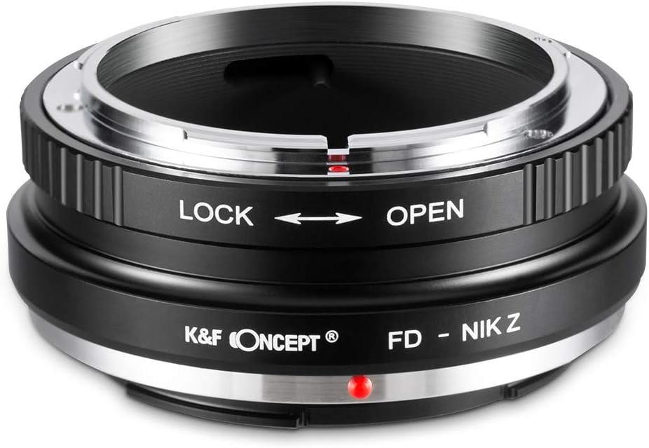 K F Concept Fd Nik Z Bajonettadapter Objektiv Ring Für Elektronik