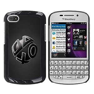 "For BlackBerry Q10 , S-type Formas abstractas"" - Arte & diseño plástico duro Fundas Cover Cubre Hard Case Cover"