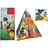 Disney Mickey Mouse Play Tent Slumber Set
