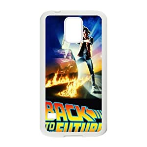 Back To The Future Pattern Plastic Case For Samsung Galaxy S5
