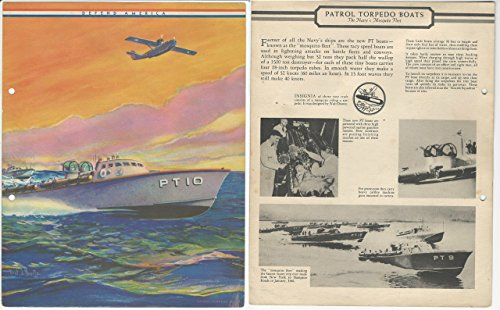F6-1 Dixie Cup, Premium, 1941, Defend America, Patrol Torpedo Boats