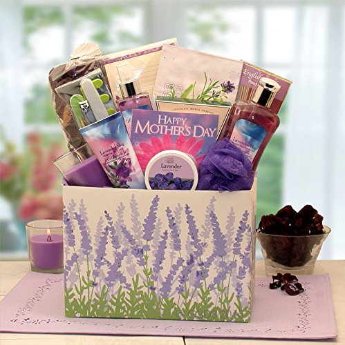 Mother's Day Lavender Spa -Women's Birthday, Holiday, or Mother's Day Gift Basket Idea