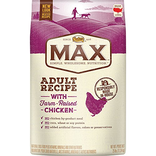 Nutro Max Adult Dry Dog Food With Farm Raised Chicken, 25 Lb. Bag
