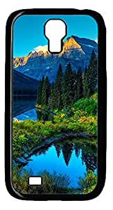 Samsung Galaxy S4 I9500 Cases & Covers - Hdr Mountains Lake Custom PC Soft Case Cover Protector for Samsung Galaxy S4 I9500 - Black