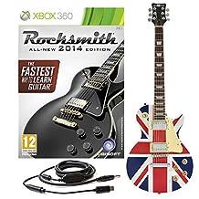 Rocksmith 2014 Xbox 360 + New Jersey Electric Vintage Sunburst