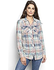 Orvis Womens Washed Plaid Shirt