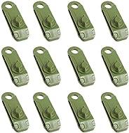 Azarxis 10 Pack Tarp Clips Awning Clamp Set Heavy Duty & Multi-Purpose & Thumb Screw Tent Tighten Lock