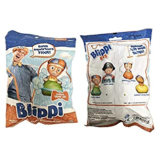 U.C.C. Distributing Blippi Bath Squirt Toy Mystery Pack - 1 Random Bathtub Squirter Included