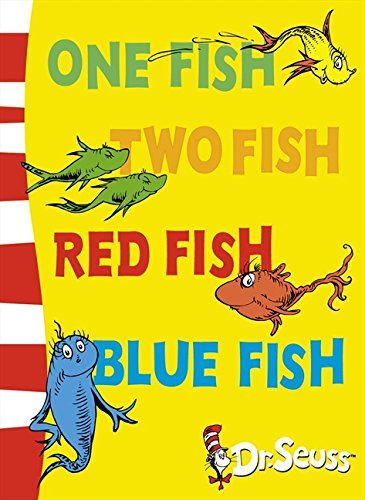 One Fish Two Fish Red Fish Blue Fish Blue Back Book Dr Seuss