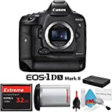 Canon EOS 1Ds Mark II DSLR Camera with 32GB Extreme CF Compact Flash Memory Card International Model Camera Bundle