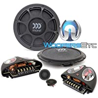 Morel Virtus Nano 6.5 2-Way 0.67 Super Slim Component Speakers (600W 280 RMS)