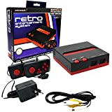 Retro-Bit Console - 8-Bit - Top Loader, Black/Red - NES