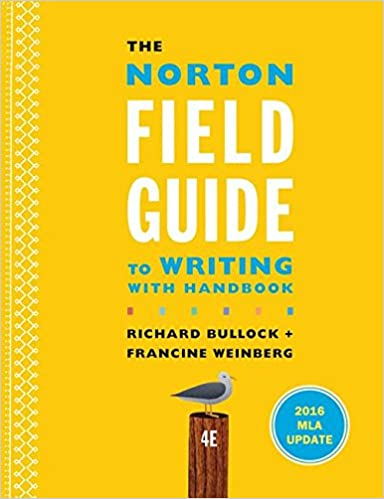 The Norton Field Guide To Writing Third Edition Ebook