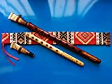 ARMENIAN Engraved DUDUK PRO from Apricot Wood, 2 Reeds, National Case, Playing Instruction and Free Gift Flute