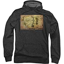 The Hobbit - Mens Middle Earth Map Hoodie