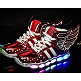 White Dwarf Kids High Top Rechargeable LED...