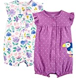 Carter's Baby Girls' 2-Pack Romper