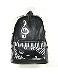 Music Notes Piano Themed Backpack