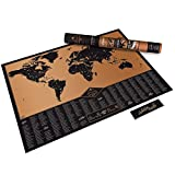 Luckies of London Adventure Map Personalized World Map